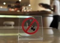 Некурящий зал в ресторане