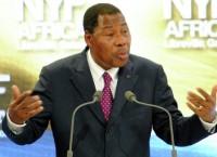 Президент Бенина Томас Бони Яйи. Архив