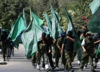 Участники палестинского движения ХАМАС