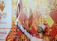 Церемония презентации Олимпийского факела