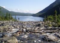 Мультинское озеро в Катунском заповеднике Алтая