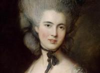 Картина английского живописца Томаса Гейнсборо Дама в голубом
