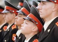 Воспитанники суворовского военного училища. Архив