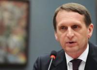 Председатель Госдумы Сергей Нарышкин. Архив