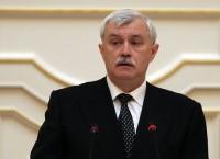 Губернатор Санкт-Петербурга Георгий Полтавченко. Архив