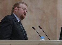 Депутат законодательного собрания Санкт-Петербурга Виталий Милонов. Архив