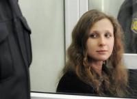 Участница группы Pussy Riot Мария Алехина в суде