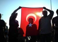 Протестующие на площади Таксим в Турции