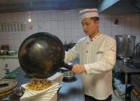 Приготовление блюда с грибами по-китайски