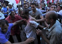 Беспорядки в египетской Александрии. Архив