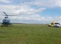 Трех беременных женщин эвакуировали вертолетом из зоны паводка в Забайкалье