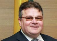 Министр иностранных дел Литвы Линас Линкявичюс. Архив
