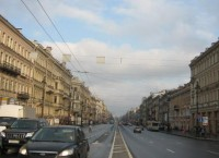 Летнее утро на Невском проспекте