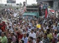 Демонстрация сторонников президента Моххамеда Мурси в Каире