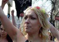 Активистки украинского движения Femen. Архив