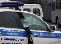Автомобиль ГИБДД во Владивостоке