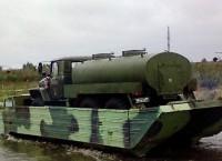 Гусеничный плавающий транспортер типа ПТС-2