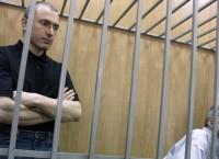 Экс-глава ЮКОСа Михаил Ходорковский и глава МФО Менатеп Платон Лебедев. Архив