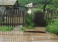 Во время наводнения в Тернейском районе Приморья, август 2013 года