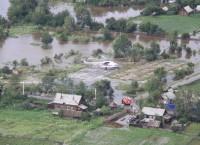 Паводок в селе Ивановка Амурской области