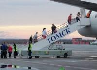 Первый международный рейс отправился из аэропорта Томска