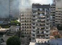 Взрыв прогремел в жилом доме в аргентинском городе Росарио