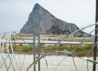 Граница Испании и Гибралтара. Архив