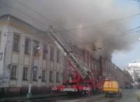 Пожар в Ленинском районе г. Кирова