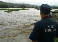 Подтопленное село Абзелиловского района Башкирии