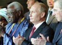 В.Путин на открытии чемпионата мира по легкой атлетике в Москве