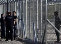 Лагерь для мигрантов в городке Амигдалеза в Греции. Архив