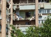 Взрыв газа в доме в Луганске