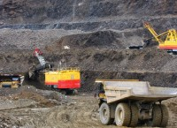 Карьер золоторудного месторождения