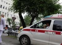 Карета скорой помощи на улицах Владивостока