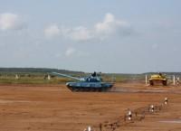 Танковый биатлон в Алабино