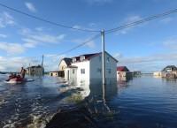 В Амурской области растет число подтопленных домов