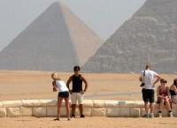 Иностранные туристы в Египте