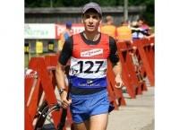 Павел Шелковкин, бронзовый призер открытого чемпионата Европы по кросс-биатлону