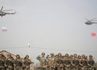 Завершение российско-китайских антитеррористических учений Мирная миссия-2013