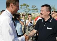 Губернатор Миклушевский на острове Русском