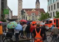У ратуши в Ингольштадте, где неизвестный захватил заложников