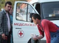 Отравившиеся на стройплощадке в Пулково доставлены в больницу. Архив