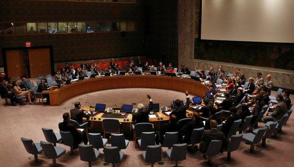 Заседание постоянных членов СБ ООН по Сирии, архивное фото