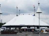 Шатер Cirque du Soleil