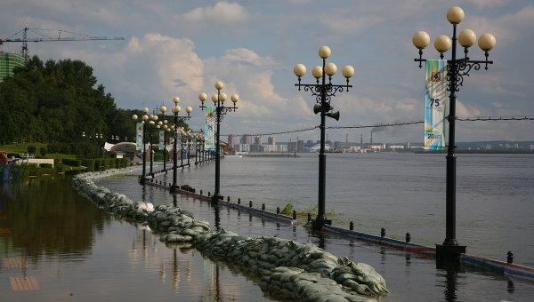 Паводок в Хабаровске