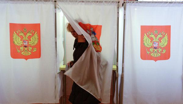 Во время голосования на одном из избирательных участков