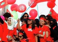 Сторонники действующего главы Мальдивской республики Мохаммеда Вахида