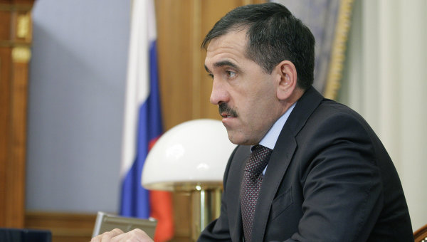 Президент Ингушетии Юнус-Бек Евкуров. Архив