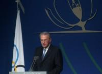 Действующий президент Международного олимпийского комитета (МОК) Жак Рогге