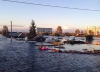 Паводок в Комсомольске-на-Амуре, фото с места событий